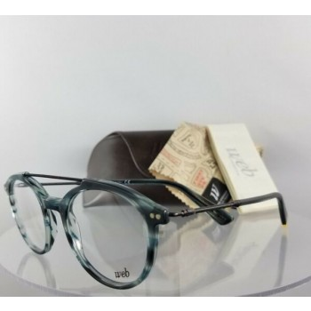 Brand New Authentic Web Eyeglasses WE 5204 Col. 092 Blue Tortoise Clear WE5204