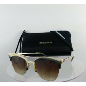Brand New Authentic Dsquared2 Sunglasses DQ 0251 Kris 64F 55mm Frame DQ251