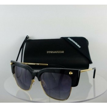 Brand New Authentic Dsquared2 Sunglasses DQ 0279 Federica 01B 55mm Frame DQ279