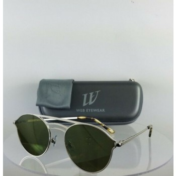 Brand New Authentic Web Sunglasses WE 207 Col. 16Q Silver 55mm Frame