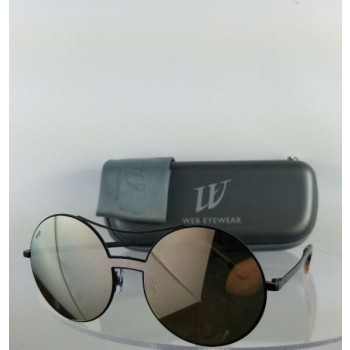 Brand New Authentic Web Sunglasses WE 0211 Col. 02G Black 128mm Frame 211