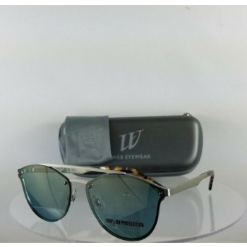 Brand New Authentic Web Sunglasses WE 0189 Col. 09X Silver 59mm Frame 189