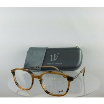 Brand New Authentic Web Eyeglasses WE 5219 Col. 047 Brown 51mm