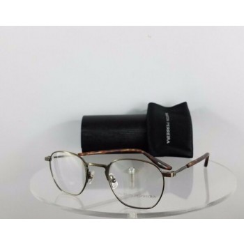 Brand New Authentic Barton Perreira Eyeglasses Ginsberg ANG Antique Gold Frame