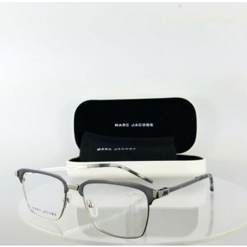 Brand New Authentic Marc Jacobs Eyeglasses Marc 146 T8K Silver Frame 52mm