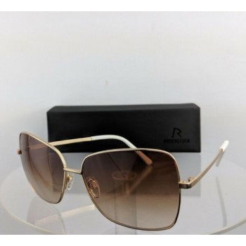Brand New Authentic Rodenstock Sunglasses R 1407 C Gold Cat 2 Frame