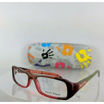 Brand New Authentic Ronit Furst Rf 3765 43 Hand Painted Eyeglasses 52Mm Frame