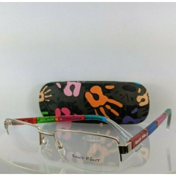 Brand New Authentic Ronit Furst Rf 6483G 19 Hand Painted Eyeglasses Frame 6483
