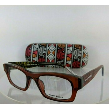 Brand New Authentic Ronit Furst Rf 5060 T2 Hand Painted Eyeglasses 50Mm Frame