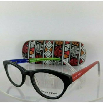 Brand New Authentic Ronit Furst Rf 5029 J3 Hand Painted Eyeglasses 47Mm Frame