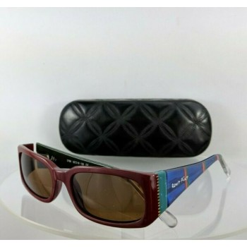 Brand New Authentic Ronit Furst Rf 3766 20 52Mm Hand Painted Sunglasses Frame