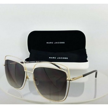Brand New Authentic Marc Jacobs 9/S Tortoise Gold Silver Frame 54Mm 9