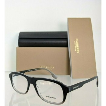 Brand New Authentic Burberry Eyeglasses BE 2299 3805 Black Clear 54mm 2299 - F