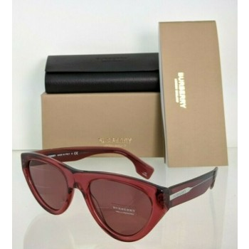 Brand New Authentic Burberry BE 4285 Sunglasses 3796/75 Plum Frame 52mm