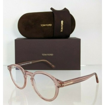 Brand New Authentic Tom Ford Eyeglasses FT TF 5529 072 48mm Pink TF5529-B Frame