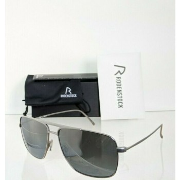 Brand New Authentic Rodenstock Sunglasses R 7414 D Silver Frame