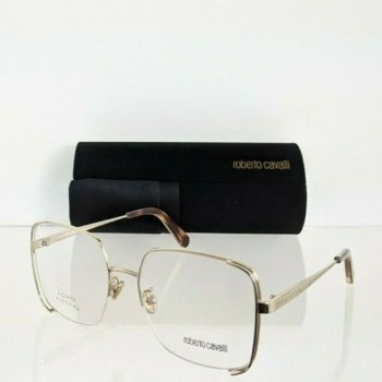 Brand New Authentic Roberto Cavalli Eyeglasses 5085-F 32A 56mm Asian Fit Frame