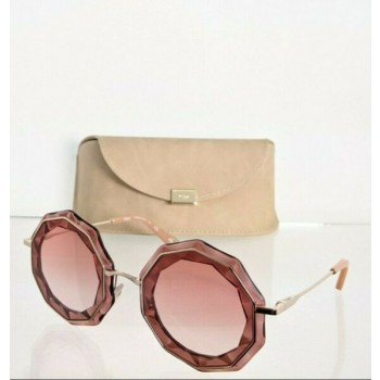 Brand New Authentic Chloe Sunglasses CE 160S 860 52mm Gold 160 Frame