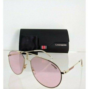 Brand New Authentic Carrera Sunglasses 1025/S Gold 1025 EYRQ4 59mm Frame