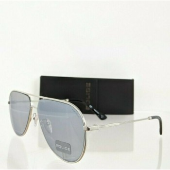 Brand New Authentic Police Sunglasses Highway Two 1 SPL 359 Frame 589X 59mm