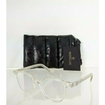 Brand New Authentic Moncler Eyeglasses ML 5032 024 47mm Foggy Clear Frame