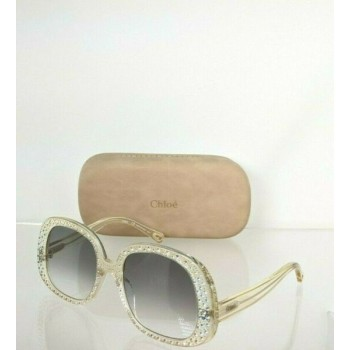 Brand New Authentic Chloe Sunglasses CE 755SR 799 54mm Clear 755 Frame