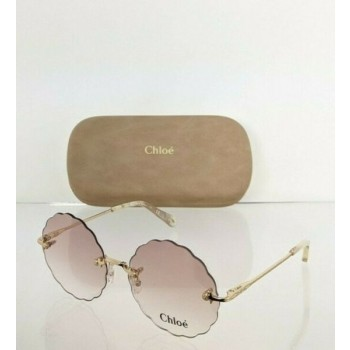 Brand New Authentic Chloe Sunglasses CE 2147S 717 55mm Gold 2147 Frame