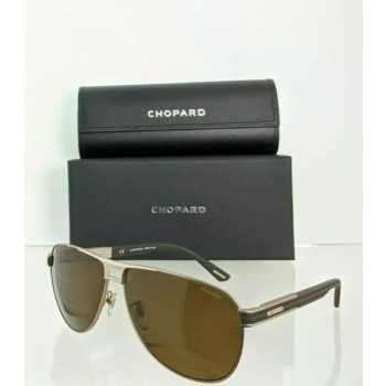 Brand New Authentic Chopard Sunglasses SCHCB80 Polarized Frame 62mm SCHB 80S