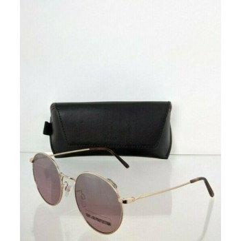 Brand New Authentic Bally Sunglasses BY 0013 12C BY0013-H 54mm Gold Frame