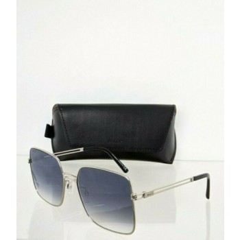 Brand New Authentic Bally Sunglasses BY 0002 16B BY0002-D 58mm Silver Frame