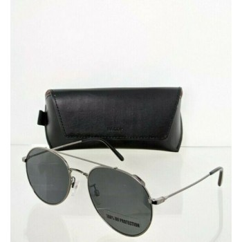 Brand New Authentic Bally Sunglasses BY 0008 08A BY0008 56mm Gunmetal Frame