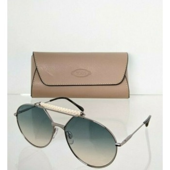 Brand New Authentic Tod's Sunglasses TO 235 14P 59mm Gunmetal Frame TO235