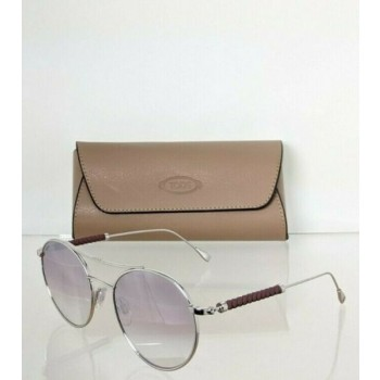 Brand New Authentic Tod's Sunglasses TO 228 18Z 52mm Silver Frame TO228