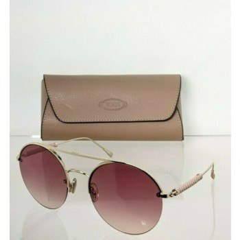 Brand New Authentic Tod's Sunglasses TO 249 321 56mm Silver Frame TO249