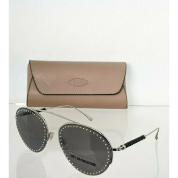 Brand New Authentic Tod's Sunglasses TO 234 16A 60mm Silver Frame TO234