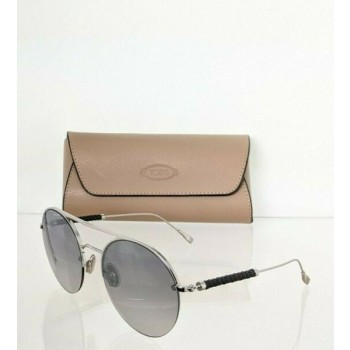 Brand New Authentic Tod's Sunglasses TO 249 16C 60mm Silver Frame TO249