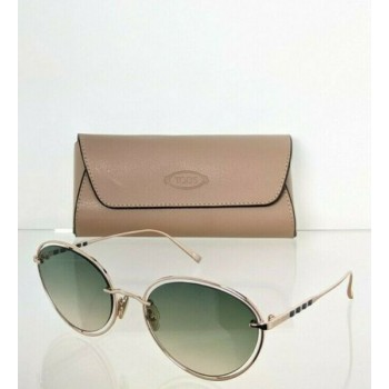 Brand New Authentic Tod's Sunglasses TO 264 28P 57mm Gold Frame TO264