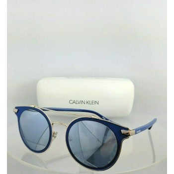 Calvin Klein CK 2149S 412 Blue & Gold Sunglasses