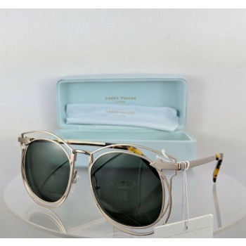 Karen Walker Simone Gold Sunglasses