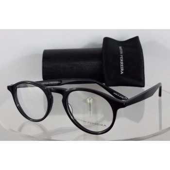 Barton Perreira McGRAW BLA Black Eyeglasses