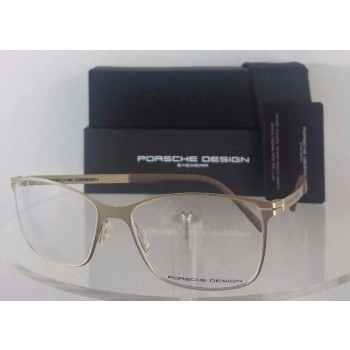 Porsche Design P 8262 C Gold Brown Eyeglasses