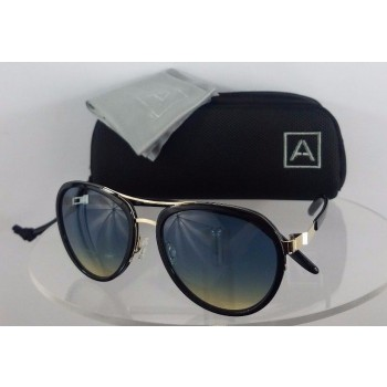 Barton Perreira Allied A060 Metal Works  Black Sunglasses