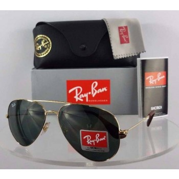 Ray Ban RB3558 001/71 Gold Sunglasses
