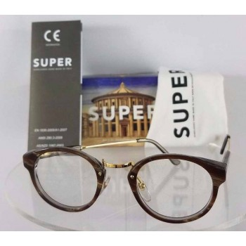 Retrosuperfuture SM3 0T Gold Eyeglasses
