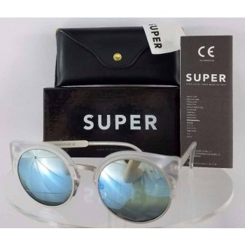 Retrosuperfuture 3FX AG6 Clear Sunglasses
