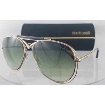 Roberto Cavalli Civitella 1054 28P Gold Sunglasses