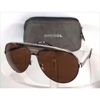 Diesel DL 0132 08E Grey Sunglasses