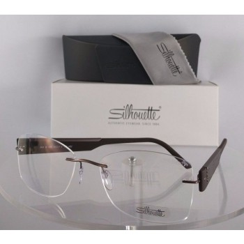 Silhouette 4448 40 6055 Brown Eyeglasses