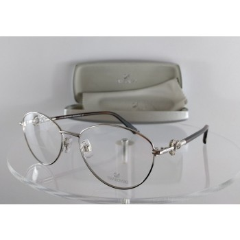Swarovski Betty Lou SW 5054 092 Silver Eyeglasses
