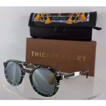 Thierry Lasry Gravity C33 Green Sunglasses